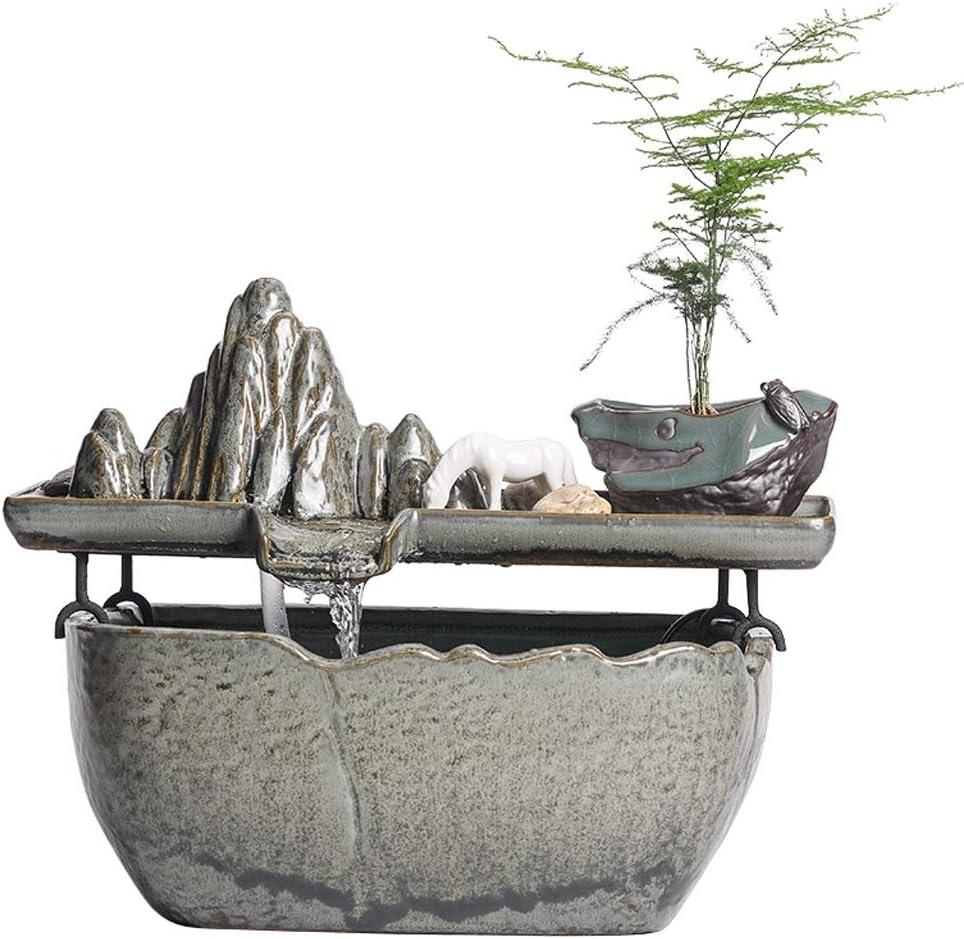 New product type piaoling Desktop Boston Mall Fountain Chinese Humi Waterfall Style