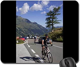Mouse Pad - Pass High Alpine Road Auto Grossglockner Mountains