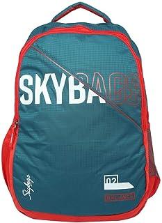 حقيبة ظهر كاجوال من Skybags فيجو Extra 03 36 لتر، أزرق مخضر (FEIGO EXTRA 03)