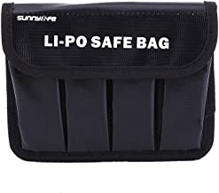 Zouminy Explosion-Proof Safe Portable Lipo Battery Storage Bag Protector Case for DJI OSMO/OSMO Mobile