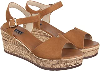 Flat n Heels Womens Tan Sandals FnH 117-1-TAN