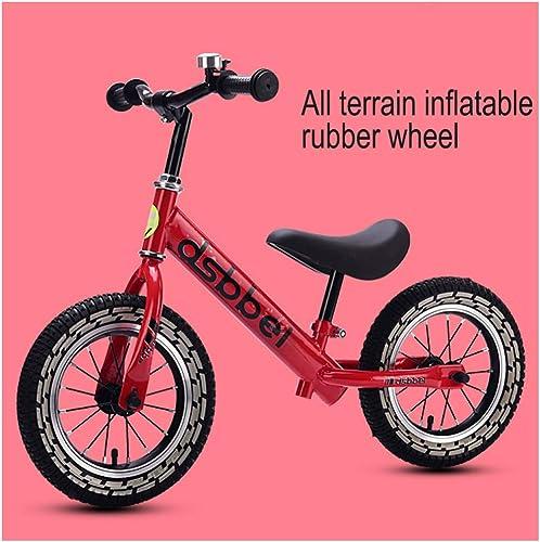 GSDZN - Kinder Laufrad Lernlaufrad Balance Bike Laufrad Sport, Cool Light Rad, 50kg Tragkraft, Verstellbarer Lenker, Sitzh  Und Standfu Mit Klingel, 2-6 Jahre Altes Kind, 80-120cm
