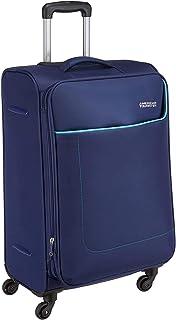 حقيبة سفر صغيرة الحجم مطبوع عليها جامايكا من American Tourister ، أزرق داكن 66 سم