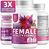 N1N Female Enhancement Pills - [14 Potent Herbs], Natural Mood & Energy Booster...