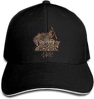 野球キャップカスタムプリント男性オーディンに Valhalla 入力 Sleipnir バイキング女性は帽子キャップ