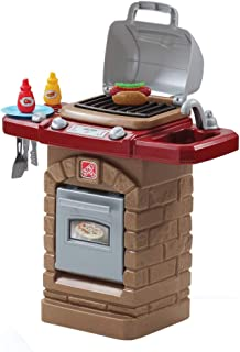 Step2 Fixin Fun Outdoor Grill Pretend Play and Dress-up Toy [Brown and Red, 831700]