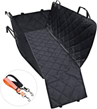 MESIMME Dog Seat Cover with Side Flaps Hammock for Pet Supplies for Cars Trucks and SUVs