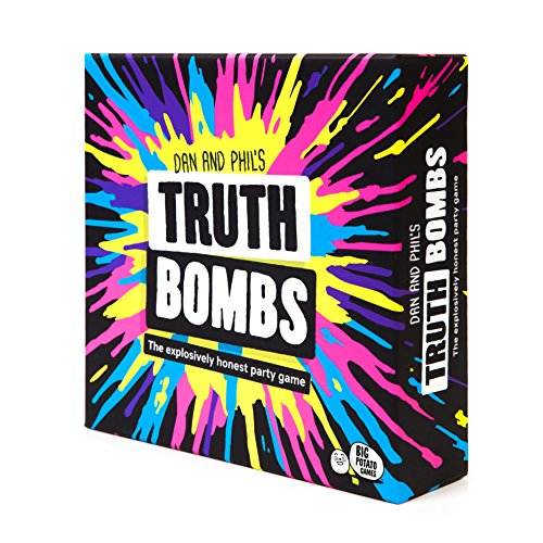 Truth Bombs Party game di supereroi, panini e segreti