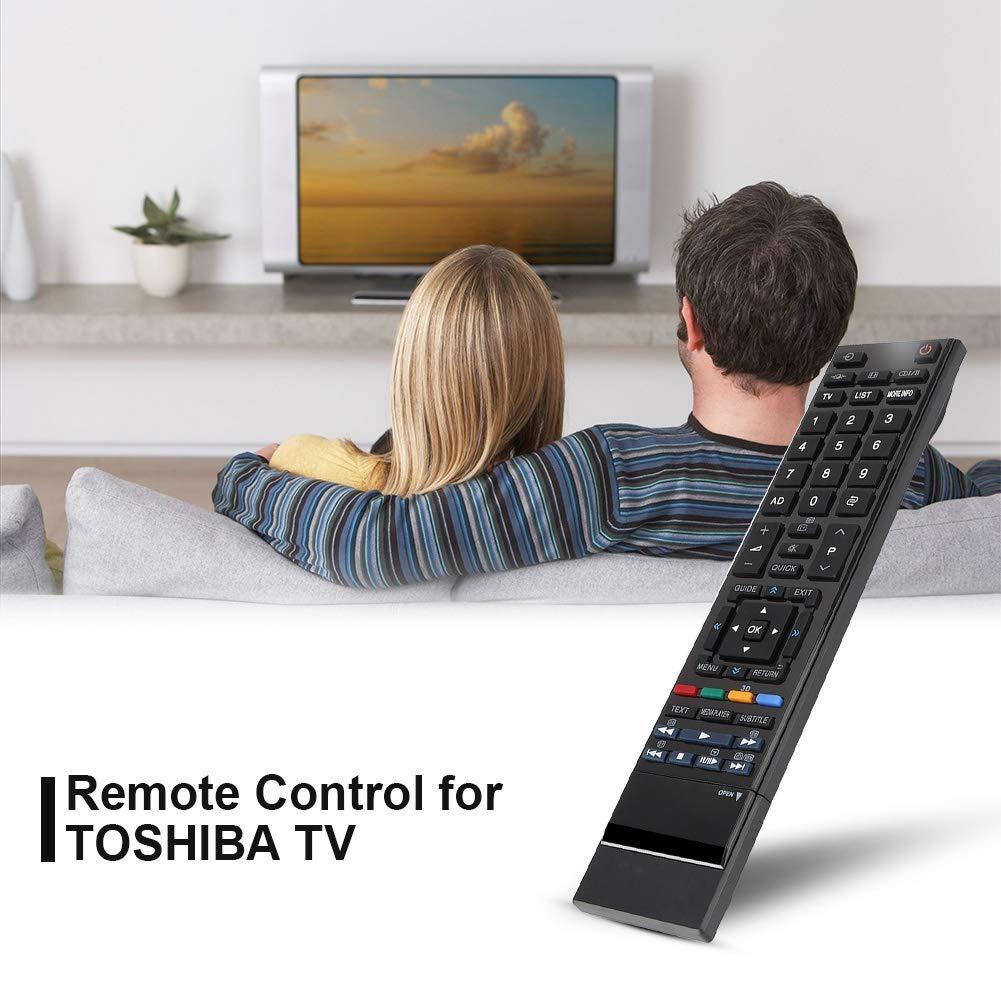 Tangxi Control Remoto para Toshiba, reemplazo del Control Remoto Universal para Smart TV Toshiba,> 8 m de Distancia de Control: Amazon.es: Electrónica