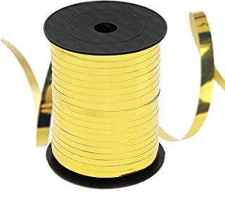 Gold Curling Ribbon Balloon String Party Decorative Supplies Balloon Roll Gift Wrapping Ribbons,500 Yards