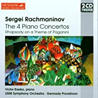 Sergei Rachmaninov: The 4 Piano Concertos: Rhapsody on a Theme of Paganini by Rachmaninoff
