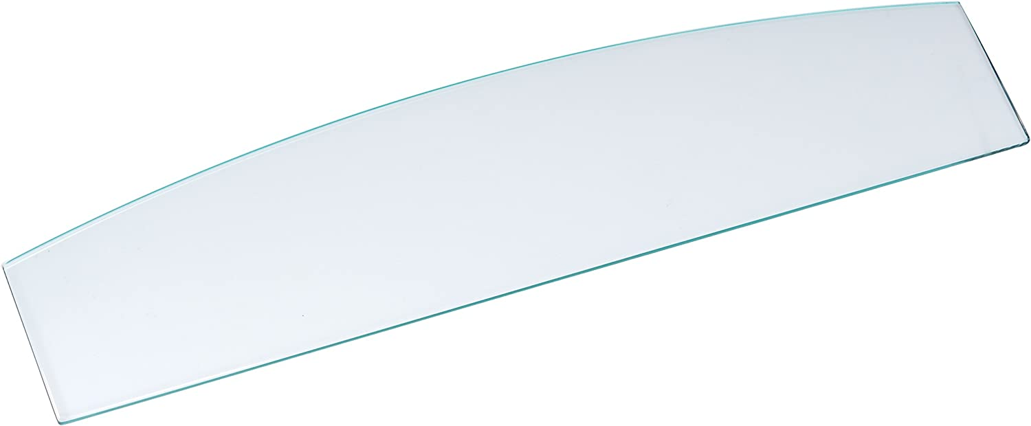 ROHL Replacement Glass Shelf 17 3 4-Inch Length X 4-Inch Width
