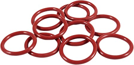 Moligh doll 10 PCS Industrie Silikon O Ring Dichtung 25 mm x 32 mm x 3,5 mm