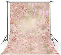 MEHOFOTO Newborn Pink Floral Backdrop Spring Photo Studio Booth Backgrounds Children Flowers Photography Backdrops Props 5x7ft