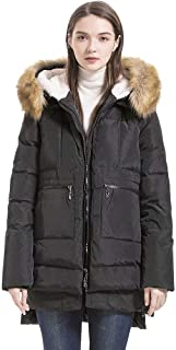 ladies down filled quilted jacket