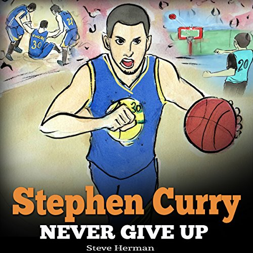 Stephen Curry: Never Give Up audiobook cover art