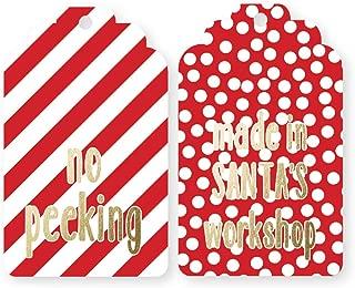 Santa's Workshop Duo Gift Tags