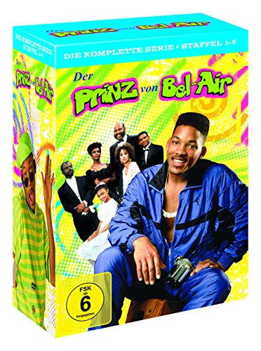 Der Prinz von Bel-Air – Die komplette Serie (Staffel 1-6) (exklusiv bei Amazon.de) [Limited Edition] [23 DVDs]