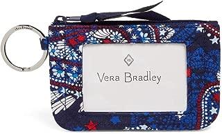 Vera Bradley Womens 22645 Iconic Zip Id Case