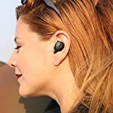 AUKEY Auriculares Inalámbricos Bluetooth con Controladores de Grafeno, Duración de Batería de 24 Horas, Estuche, Reproducción de Audio y Llamadas para iPhones, Teléfonos Samsung y más