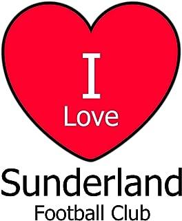 I Love Sunderland Football Club: White Notebook/Notepad for Writing 100 Pages Sunderland Football Gift for Men, Women, Boys & Girls