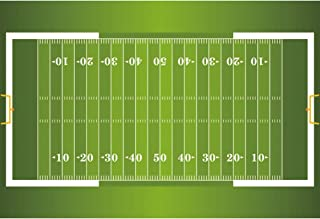 OFILA American Football Field Backdrop 7x5ft Stadium Aerial View Photos Background Football Games Kids Football Birthday Background Sports Events Banner Decor Goal Champion Ship Video Props
