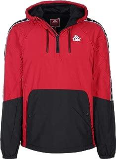 Kappa Men's Banda Amaul Slim Fit Jacket, Red