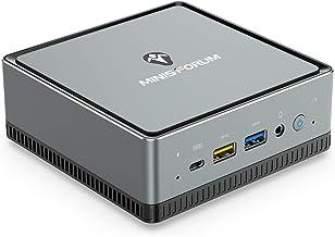 UM250 Mini PC AMD Ryzen 5 PRO 2500U 4C / 8T Windows 10 Pro Mini Computer ، DDR4 16 GB RAM 512GB SSD ، HDMI / DP / USB-C [با ایمیل محافظت شده] خروجی ، 2X پورت RJ45 ، 4X پورت USB3.1 ، WIFI6 AX200 BT5. 1 ، Radeon Vega 8 Graphics