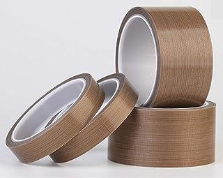 "1"" x 33 feet PTFE Adhesive Tape Teflon Tape High Temperature Teflon Tape PTFE Coated Fabric Teflon Tape - Fits Weston,Food..."