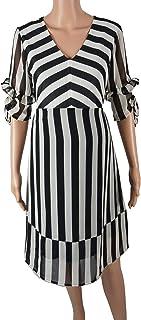 M4M Fashion 100% CHIFFON Maternity Short Dress For Women