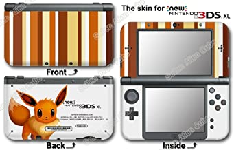 Pokemon Eevee Classic Edition Vinyl Skin Sticker Decal Cover for NEW 3DS XL