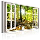 murando - Bilder Fensterblick 120x80 cm Vlies Leinwandbild