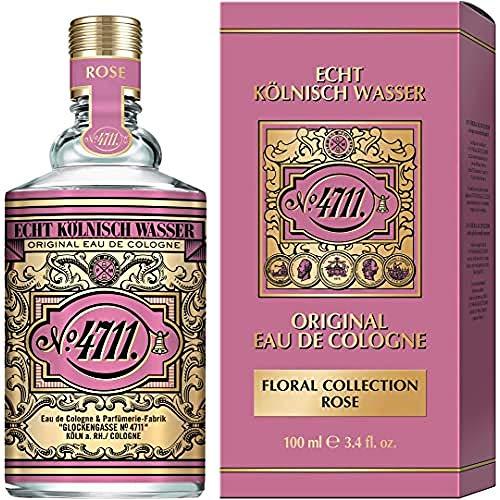 4711 Floral Collection Rose Eau de Cologne, 100 ml