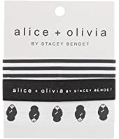 Alice + Olivia - Stace Face Elastic Hair Tie Set