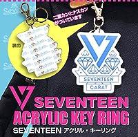 SEVENTEEN (セブンティーン) ロゴ アクリル キーリング/キーホルダー グッズ