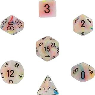 Chessex Dice: Polyhedral 7-Die Festive Dice Set - Circus w/black