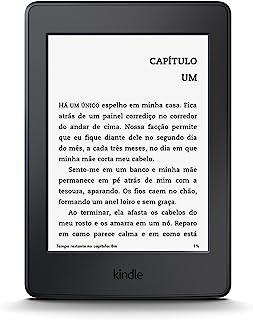 """Kindle Paperwhite Wi-Fi, iluminação embutida, tela de 6"""" sensível ao toque de alta definição"""