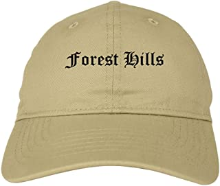 Kings Of NY Forest Hills City New York NY Goth 6 Panel Dad Hat Cap
