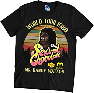 Sexual Chocolate World Tour 1988 Vintage Retro T-Shirt Randy Watson Coming to America