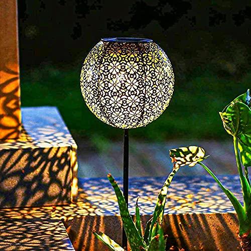 Solar Gartenlicht Outdoor Solarleuchten Garten Deko solarlampen für...