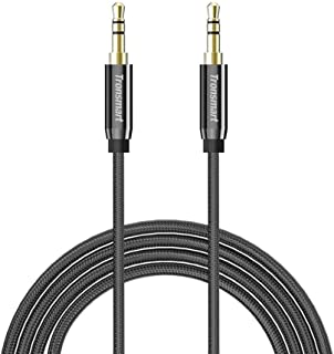Tronsmart S3C02 3.5mm Male to Male Premium AUX Audio Cable 2 Pack 4ft+8ft for Headphones, iPods, iPhones, iPads