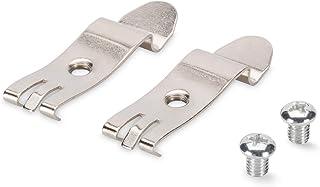 DIGITUS DIN Rail Adapter Für Desktop Patch Panel   Hutschienen Montage   1 Set = 2 Metall Clips   Metall