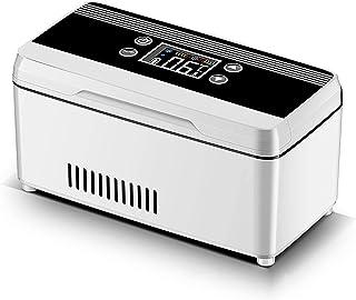 Kylskåp i kylbox|Bärbart medicinkylskåp |Inbyggt batteri mini bärbar isolin reefer kall förvaringsbox, LCD-kylskåp för uto...