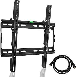 Supporto da parete per TV Suptek con livella a bolla incorporata per schermi piatti al plasma a LED LCD da 26-55 pollici C...