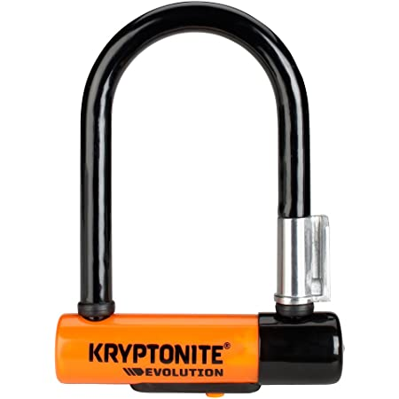 Kryptonite Evolution 11-14mm U-Lock with FlexFrame-U Bracket