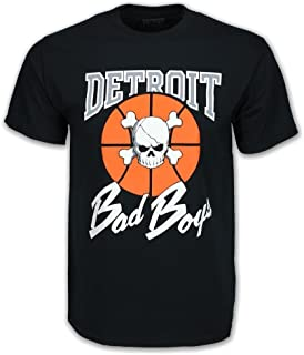 Detroit Pistons Bad Boys Apparel- Historic NBA Men's T-Shirt