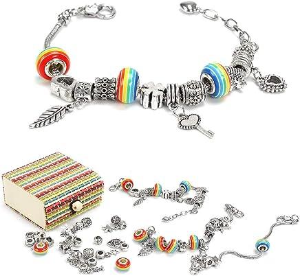 11d09321efa8 Amazon.es  hacer pulseras niñas - Dijes   Fabricación de abalorios y ...