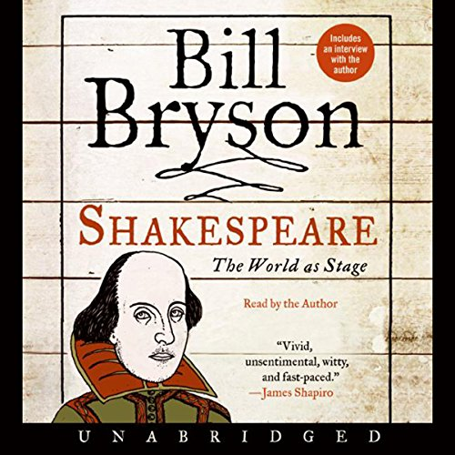 Shakespeare audiobook cover art
