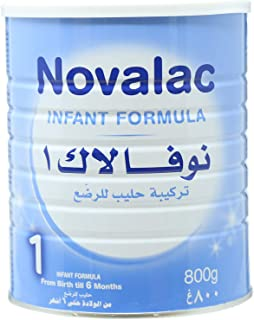 Novolac N1 Infant Formula, From Birth To 6 Months, 800 gm