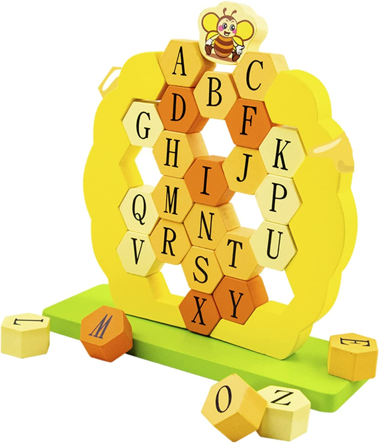 NEWMIND Award-winning store Wooden Puzzles for Industry No. 1 Toddlers Alphabet Shape ABC Puzzle P